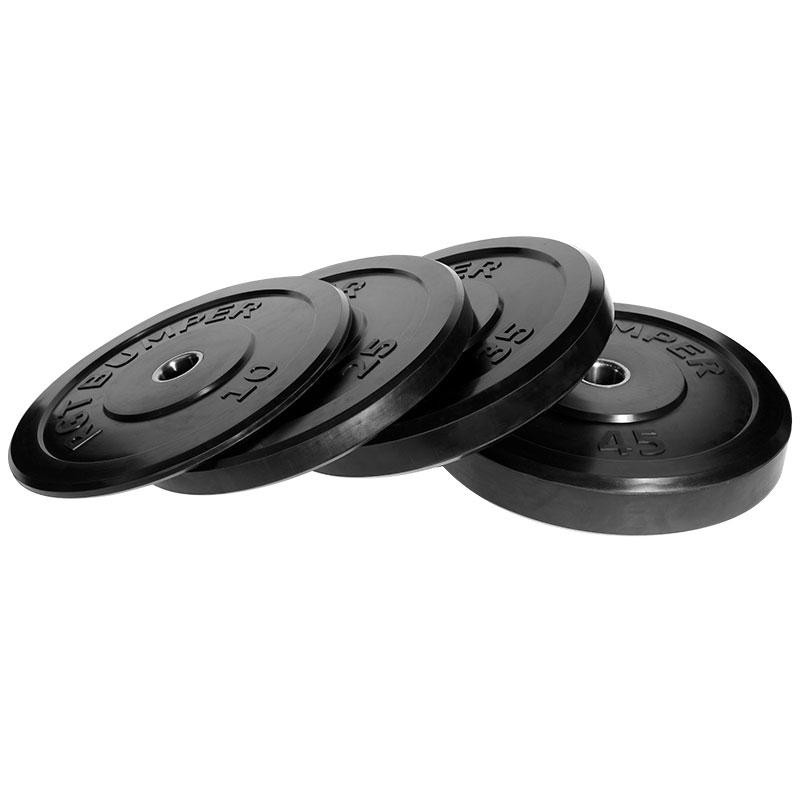 二英寸5CM大孔径橡胶盘 10-45LB