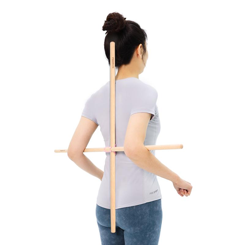 站姿纠正驼背矫正形体开背棍